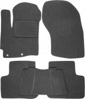 Коврики в салон для Mitsubishi Outlander XL '07-12 текстильные, темно-серые (Корона)