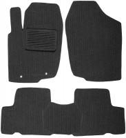 Коврики в салон для Toyota RAV4 '06-12 текстильные, темно-серые (Корона)