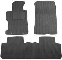 Коврики в салон для Honda Civic 4D '06-12 текстильные, темно-серые (Корона)