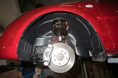 Подкрылок задний левый для Kia Rio '05-11 (Novline)