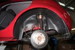 Подкрылок задний правый для Kia Rio '05-11 (Novline)