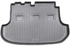 Коврик в багажник для Hyundai H-1 '97-07, длинный, полиуретановый (Novline / Element) черный