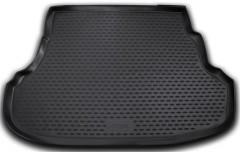Коврик в багажник для Hyundai Accent (Solaris) '11-17 седан, полиуретановый (Novline / Element) черный EXP.NLC.20.41.B10