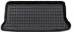 Коврик в багажник для Kia Picanto '04-10, полиуретановый (Novline / Element) черный