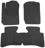 Коврики в салон для Suzuki Grand Vitara '06- текстильные, темно-серые (Корона)