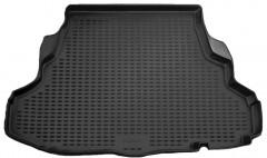 Коврик в багажник для Mitsubishi Galant '04-12, полиуретановый (Novline / Element) черный