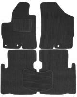 Коврики в салон для Hyundai Veracruz (ix55) '06-12 текстильные, темно-серые (Корона)