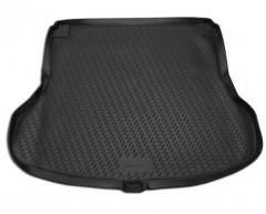 Коврик в багажник для Nissan Tiida '05-14 седан, полиуретановый (Novline / Element) черный