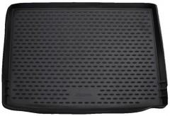 Коврик в багажник для Skoda Yeti '09-17, полиуретановый (Novline / Element) черный