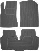 Коврики в салон для Renault Latitude '10- текстильные, темно-серые (Корона)
