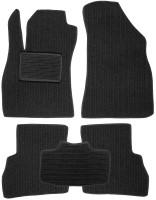 Коврики в салон для Fiat Doblo '10- текстильные, темно-серые (Корона)