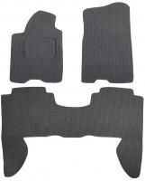 Коврики в салон для Infiniti QX '04-10 текстильные, темно-серые (Корона)