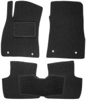 Коврики в салон для Chevrolet Malibu '12- текстильные, темно-серые (Корона)