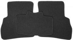 Фото 4 - Коврики в салон для Opel Combo '12- текстильные, темно-серые (Корона)