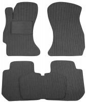Коврики в салон для Subaru Forester '13-18 текстильные, темно-серые (Корона)