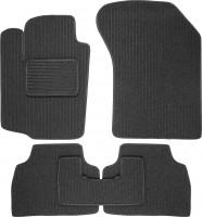 Коврики в салон для Suzuki Vitara '15- текстильные, темно-серые (Корона)
