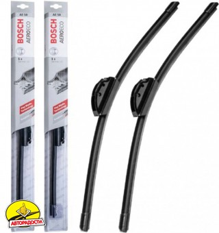 Щетки стеклоочистителя бескаркасные Bosch AeroEco 600 и 470 мм. (набор)