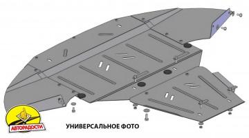Защита картера двигателя и КПП, радиатора для Subaru Outback '12-13 (Кольчуга)