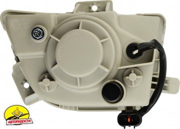 Противотуманные фары для Chevrolet Aveo '05-06 комплект (Dlaa)