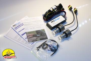 Дневные ходовые огни в поворотники TDRL 4 Optimum (с функцией габаритов) для Acura MDX '06-13 (ProBright)