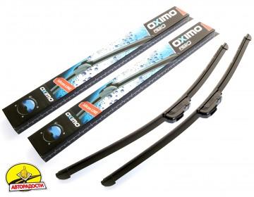 Щетки стеклоочистителя бескаркасная Oximo 600 и 475 мм. (набор) wu600+475