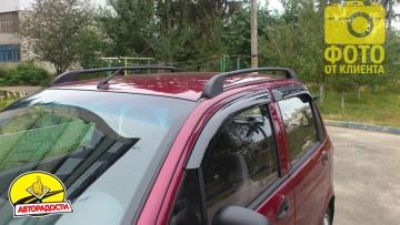 Дефлекторы окон для Daewoo Matiz '05- (Azard)
