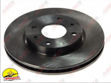 Комплект передних тормозных дисков ABE C35036ABE (2 шт.)
