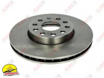 Комплект передних тормозных дисков ABE C3S012ABE (2 шт.)