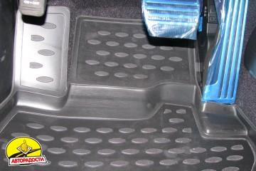 Коврики в салон для Infiniti G (Q50) Sedan '10- полиуретановые (Novline)