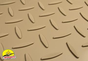 Коврики в салон для Mercedes GL/GLS X166 '12- полиуретановые, бежевые (Nor-Plast)