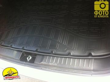 Коврик в багажник для Suzuki Vitara '15-, верхний, полиуретановый (NorPlast)