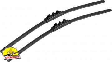 Щётки стеклоочистителя бескаркасные Alca Super Flat 500 и 400 мм. (набор)
