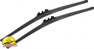 Щетки стеклоочистителя гибридные Alca Hybrid 650 и 430 мм. PushButton 19мм. (набор)
