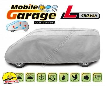 """Тент автомобильный для микроавтобуса """"Mobile Garage"""" (L 480 Van)"""