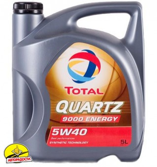 Total Quartz Energy 9000 5W-40 (5л)
