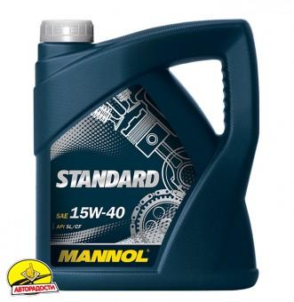 Mannol Standard 15W-40, 5 л