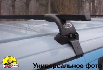 Багажник на крышу для Geely Emgrand EC7 '11- хетчбэк, сквозной (Десна-Авто)