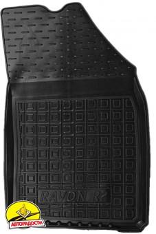Коврики в салон для Ravon R2 '15- резиновые, черные (AVTO-Gumm)