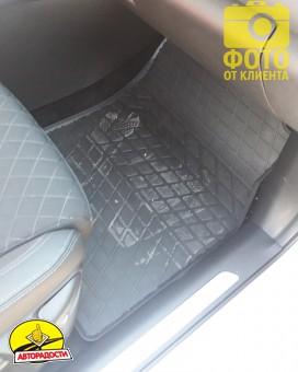 Коврики в салон для Renault Kadjar '16- резиновые (Stingray)