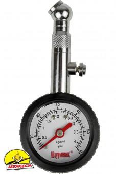 """Манометр для измерения давления в шинах """"Штурмовик"""" АС-101"""