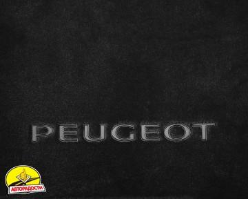 Коврик в багажник для Peugeot 307 '01-07, универсал, текстильный черный
