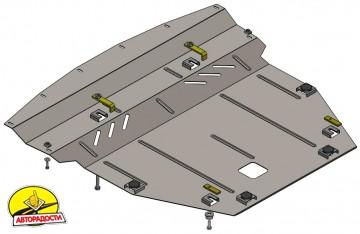 Защита двигателя и КПП, радиатора для Nissan Qashqai '16-, V-1,2і, АКПП; Рос. сборка (Кольчуга) Zipoflex