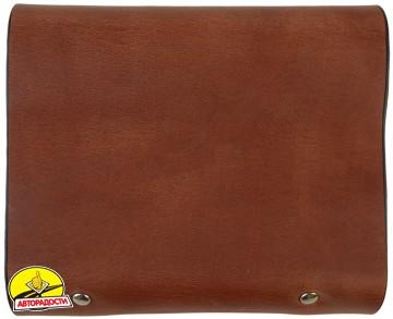 Визитница коричневая 48 карт 312123