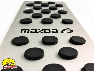 Накладки на педали Mazda 6 АКПП 3 шт. (J-tec)