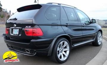 Расширители арок для BMW X5 E53 2000-2007 под покраску (Украина)