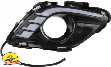 Дневные ходовые огни для Mazda 6 c 2013 V2 (LED-DRL)