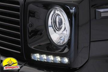 Дневные ходовые огни для Mercedes G-Class W463 2000-2012 (LED-DRL)