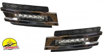Дневные ходовые огни для Mercedes GL-Class X164 2006-2009 (LED-DRL)