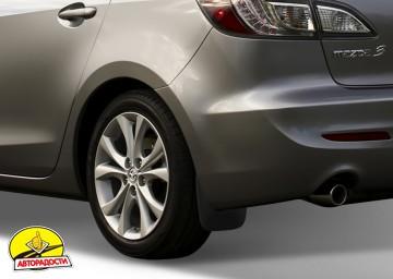 Брызговики задние для Mazda 3 2009 - 2011 Седан (Novline)