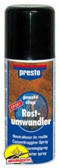 Аэрозольный грунт-преобразователь ржавчины Presto 150 мл